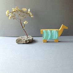 Clay Sculpture Cold Glaze - Lama - Matte Ocre and Glossy Turquoise Glaze - Medium Size - Birthday Gift on Etsy, $25.00