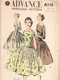 1950s dress pattern - Google Search