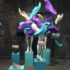 "DEBENHAMS,Aberdeen, Scotland, ""Social Butterfly"", pinned by Ton van der Veer"