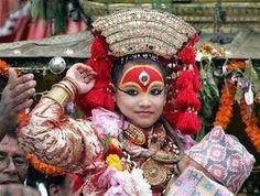 Kumari - the living godess in Nepal