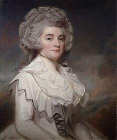George Romney (1734 – 1802), Miss Mary Finch-Hatton, 1788.