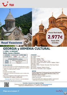 Georgia y Armenia Cultural. 10 noches. Octubre.Precio final desde 2.977€ ultimo minuto - http://zocotours.com/georgia-y-armenia-cultural-10-noches-octubre-precio-final-desde-2-977e-ultimo-minuto/