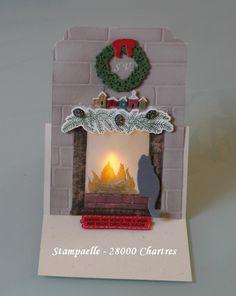 stampin up festive fireplace - Recherche Google