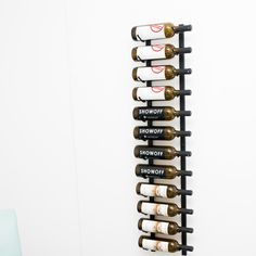 found it at wayfair wall series 12 bottle wall mounted wine rack