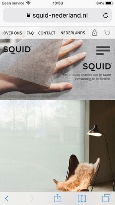 Squid raambekleding
