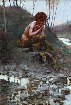 Siestrzeńcewicz, Stanisław (b,1869)- Faun