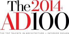 The 2014 AD100 : Directory : Architectural Digest Pretty Fantastic List.. and one to aspire to be on! #design #interiordesign #AD100 @Architectural Digest