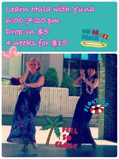 Flyer for Yuna's beginner belly dance class