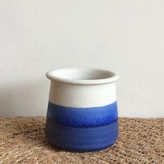morning at sea / cup / pottery / ceramics