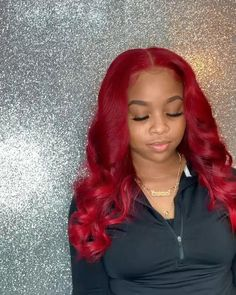 Search results for: 'red' Red Weave Hairstyles, Black Girls Hairstyles, Gorgeous Hairstyles, Bright Red Hair, Red Hair Color, Hair Colors, Red Color, Burgundy Hair Dye, Burgundy Hair Black Girl