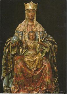 ESPAÑA - Virgen de Montserrat   VIRGEN DE MONTSERRAT - MADRID - (M-2571) (Postales - Religiosas y ... La Virgen de Montserrat, conocida popularmente como La Moreneta, es la patrona de Cataluña y una de las siete Patronas de las Comunidades Autónomas de España. Wikipedia