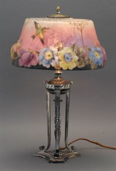 A beautiful Lamp! This is so delicate and beautiful, You could find a spot perfect for this!