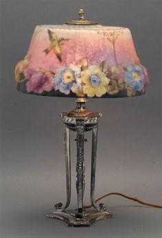 유 Illuminating Lamps 유  Flower + Hummingbird lamp