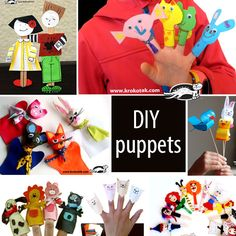 Finger Puppets + templates