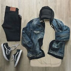 and offers a range of men's products and style tips Tomboy Fashion, Fashion Mode, Urban Fashion, Mens Fashion, Street Fashion, Swag Outfits Men, Stylish Mens Outfits, Cool Outfits, Outfit Grid