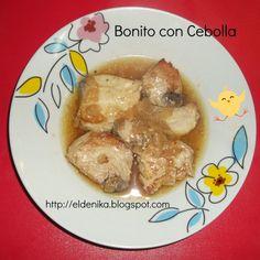 El blog de Nika: Bonito con cebolla