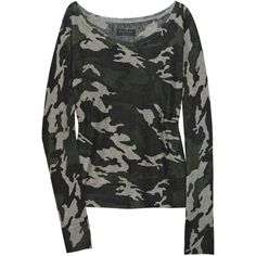Camouflage-print cashmere sweater Zadig & Voltaire