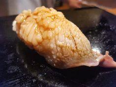 """""""ほっき貝にぎりHokkikai (Surf Clam) Nigiri Sushi 握りすし"""" https://sumally.com/p/637621?object_id=ref%3AkwHOAAN32oGhcM4ACbq1%3AmkLR"""