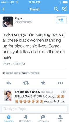 Black men, take heed...nobody has ur back like we do.  Period!
