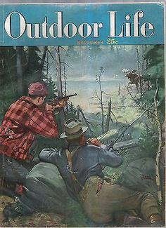 Outdoor Life Magazine November 1949 | eBay