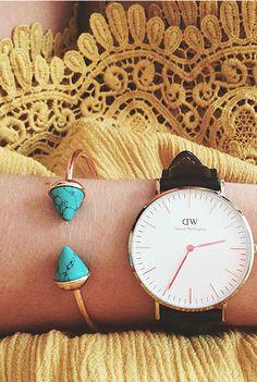 Turquoise Bangle Bracelet 14,90 € #happinessbtq