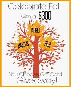 Celebrate Fall Giveaway
