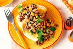 It's unbelievably easy, super versatile and incredibly delicious – is it any wonder our mums served up this family favourite on a regular basis? Mince Recipes, Beef Recipes, Cooking Recipes, Weekly Recipes, Savoury Recipes, Family Recipes, Healthy Cooking, Family Meals, Savoury Mince