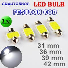 Fits Peugeot 807 2.2 White 12-SMD LED COB 12v Number Plate Light Bulb