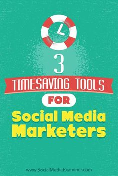 Using specialized tools to streamline time-consuming social media tasks will increase your efficiency, freeing up your schedule so you can engage with your most loyal and interesting fans.