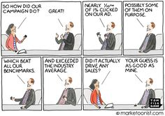 In the vein of last week's cartoon on ROI, marketers are struggling to prove their digital efforts are working. Advertisers aren't sure which measurements point to success, often relying on single …