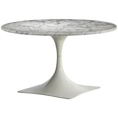Variation on M400 Series Table by Roger Tallon | From a unique collection of antique and modern dining room tables at https://www.1stdibs.com/furniture/tables/dining-room-tables/