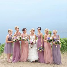 What a stunning palette of our Annabelle + Wren Dresses #jycannabelle #jycwren captured by @whitelinenphotography
