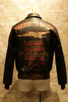 #a2jacket #noseart hace 3 semanas 29 notas A2 jacket A2 Flying Jacket a2 leather…