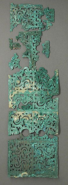 Openwork Plaque, China, Warring States period, 481-221 B.C.    Los Angeles County Museum of Art, Currently not on view