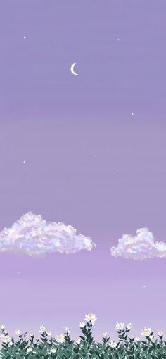 Ps Wallpaper, Purple Wallpaper Iphone, Cute Pastel Wallpaper, Aesthetic Desktop Wallpaper, Anime Scenery Wallpaper, Cute Patterns Wallpaper, Iphone Background Wallpaper, Painting Wallpaper, Kawaii Wallpaper