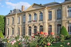 The Musée Rodin in Paris, France, is a museum that was opened in 1919, dedicated to the works of the French sculptor Auguste Rodin. It has two sites, at the Hôtel Biron and surrounding grounds in central Paris, and just outside Paris at Rodin's old home, the Villa des Brillants at Meudon (Hauts-de-Seine). The collection includes 6,600 sculptures, 8,000 drawings, 8,000 old photographs and 7,000 objets d'art, and the museum receives 700,000 visitors annually.