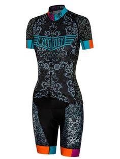 Lucky Chain Ring women's cycling kit from Cycology