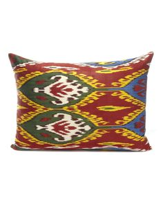 Yastik by Rifat Ozbek Medium Ikat Cushion £294 for COUTURELAB