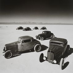 Seven Coupes at El Mirage in 2002 - Peter Vincent