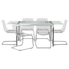 GLIVARP/TOBIAS Table and 6 chairs - IKEA