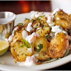 Dishoom's gunpowder potatoes