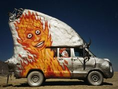 Burningman artcars | clown_burning_man_art_car
