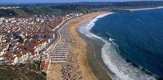 Webcam desde Nazaré, Portugal