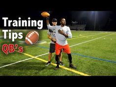 5 Tips to be a Better Quarterback - Football Tip Fridays Youth Football, Flag Football, High School Football, Football Training Drills, Football Workouts, Football Techniques, Baseball Pitching, Sports Mom, Fantasy Football