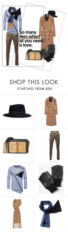 """So many likes...."" by mamaco ❤ liked on Polyvore featuring beauty, Maison Michel, Burberry, Tom Ford, Express, Polo Ralph Lauren and Lacoste"