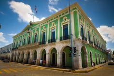 Palacio de Merida Yucatan