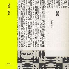 The 1975 have long been promising a new album called Notes On A Conditional Form. They first announced it over a year ago -- before their last album, A Brief The 1975 Album Cover, Music Album Covers, Music Collage, Wall Collage, Wall Art, The 1975 Songs, The 1975 Poster, Music Wall, Album Songs