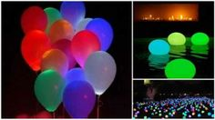 DIY Glowing Party Balloons