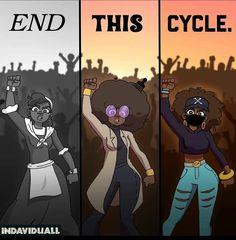 Black Love Art, Black Girl Art, Black Girl Magic, Photographie Art Corps, Art Noir, Black Girl Cartoon, Protest Art, Black Girl Aesthetic, Feminist Art