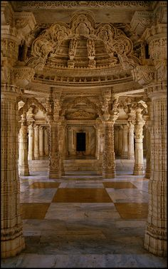 Jain Temple, Udaipur, Rajasthan, India